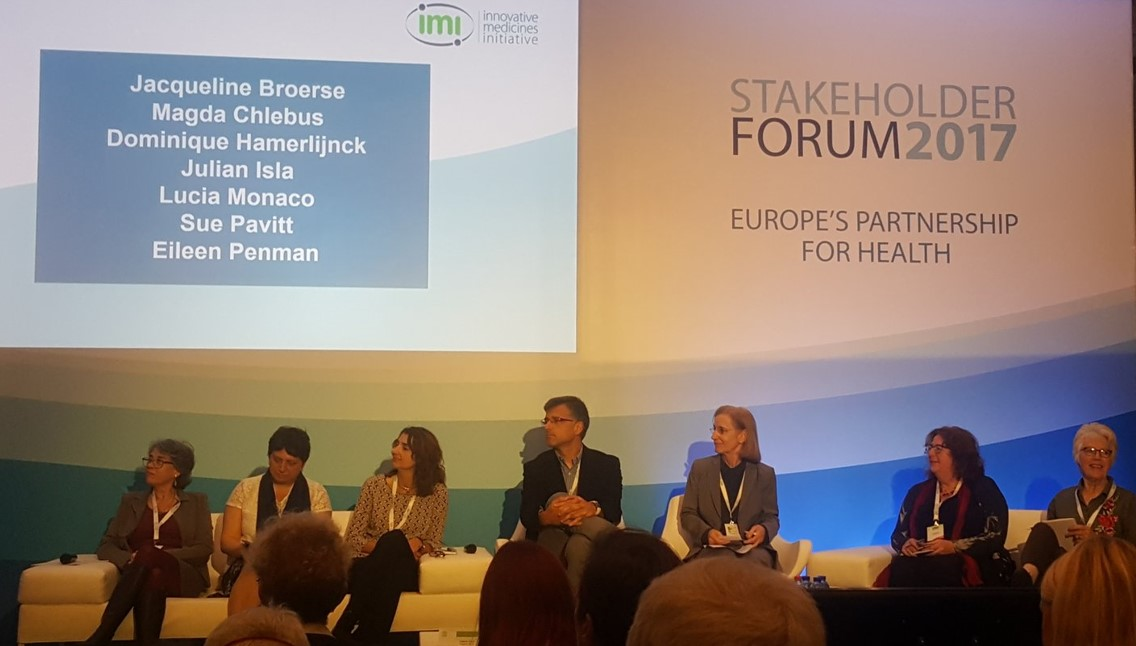 EPAD Research Participant Panel invited to speak at the IMI Stakeholder Forum