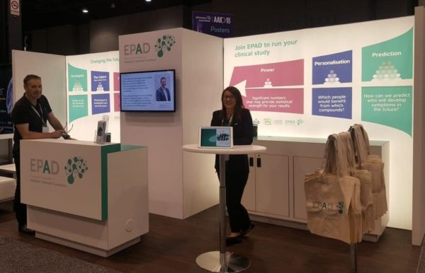 EPAD exhibits at AAIC in Chicago
