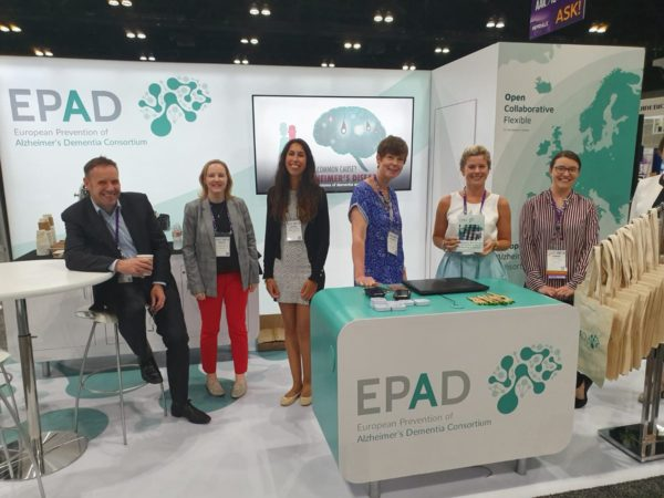 EPAD exhibits at AAIC